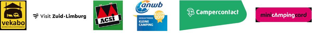 Partijen waarbij Mini camping Aan de Beemden is aangesloten
